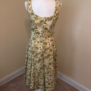 Lined Sundress that can be dressed up or down.